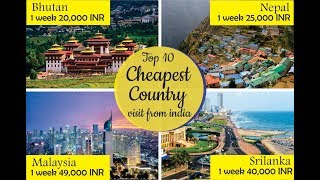 Top 10 cheapest countries to travel from India in 2019  Budget travel without VISA