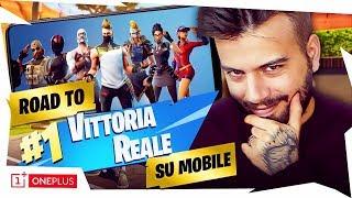 ROAD TO VITTORIA REALE SULLO SMARTPHONE PIU' VELOCE AL MONDO! Fortnite Battle Royale