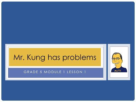 Eureka Math, 5th Grade, Module 1, Lesson 1