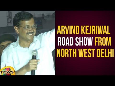 Arvind Kejriwal Road Show From North West Delhi Lok Sabha Constituency | AAP Latest News |Mango News