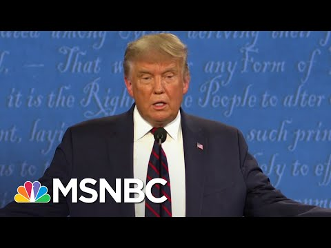 O'Donnell: Trump Must Be Asked About White Supremacy At Each Debate | The 11th Hour | MSNBC