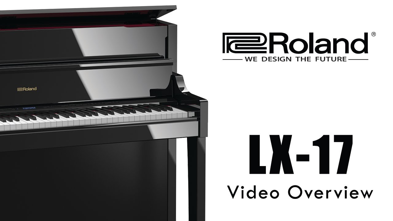 lx 17 roland digital piano 2018 youtube. Black Bedroom Furniture Sets. Home Design Ideas