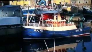 Replica Scottish fishing. Trawlers