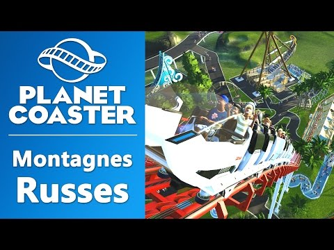 PLANET COASTER : Construire des montagnes russes | GAMEPLAY FR #2