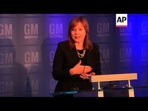 As General Motors' annual shareholder meeting got underway, family members of two victims of GM's de
