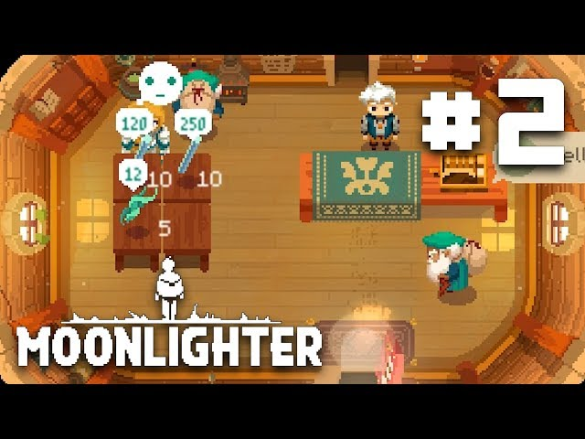 New Ancient Dungeon Artifacts - EP 2 - Moonlighter Let's Play