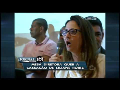 Mesa diretora quer a cassação de Liliane Roriz