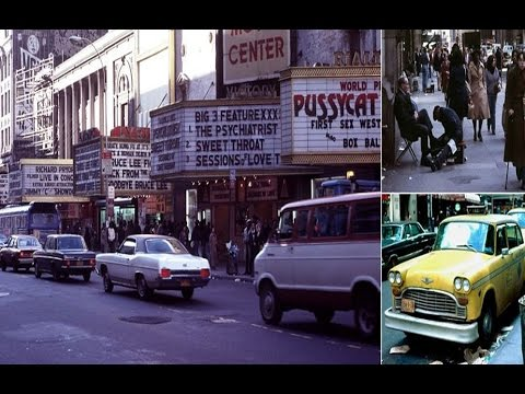 Before the great clean-up began! Vintage pictures of New York in the 1970s.
