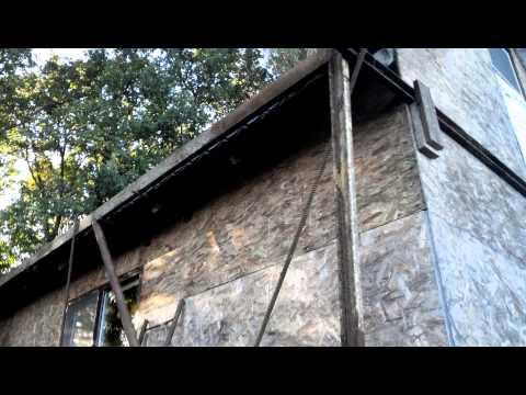 видео: Перенос каркасного дома своими руками. Часть 1