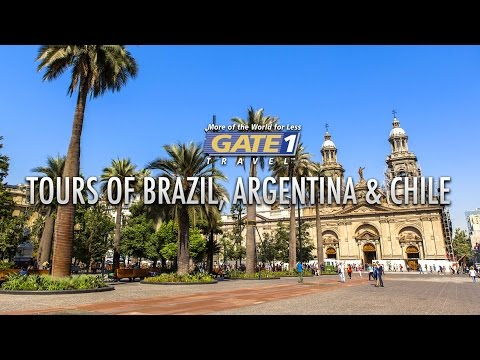 Brazil, Argentina and Chile - South America Vacations from Gate 1 Travel