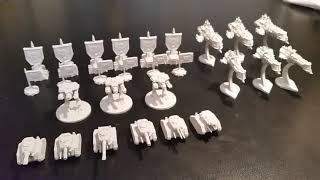 FORBIDDEN STARS: IMPERIAL GUARD ARMY 3D PRINT