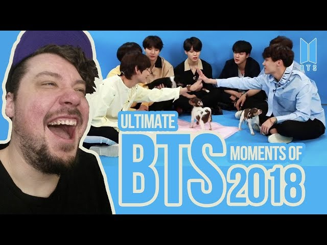 Mikey Reacts to ULTIMATE BTS MOMENTS OF 2018