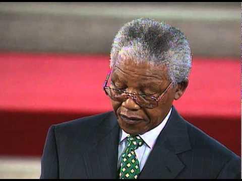 Nelson Mandela Speaking On Apartheid