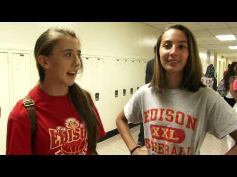 Freshman Orientation Day 2014 For Edison High School And JP Stevens