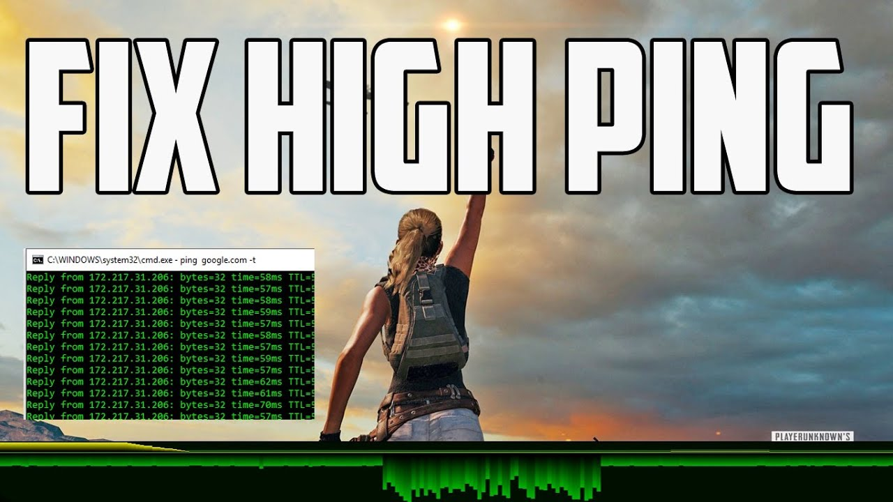 How to Fix High Ping in Online Games [ Full Tutorial ]