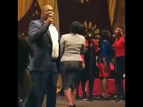 Thabile Myeni and Mzwakhe Myeni