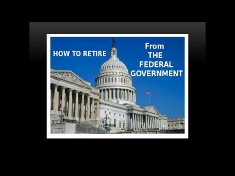 How to Retire from The Federal Government