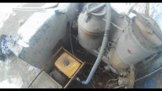 Газогенератор для электростанции и мотопомпы с двигателями 200см2