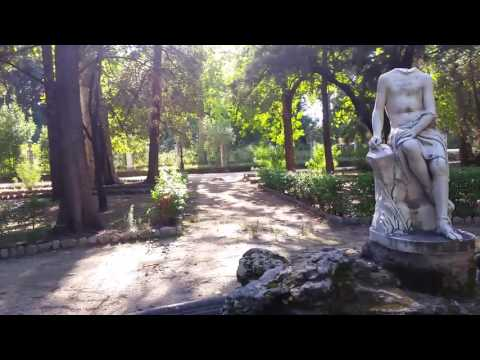 A spasso per il parco di Villa Giulia a Palermo