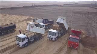 Строительство дороги Обход Хабаровска