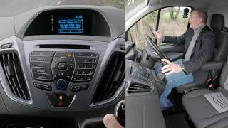 How to Set The Sat Nav, Stream Audio, Delete and Pair A Mobile In A 2016 Ford Transit Custom