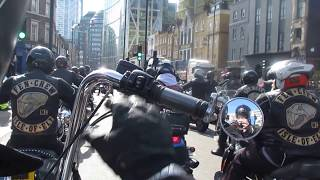 Daves last ride  - Hells Angels 25th March 2017