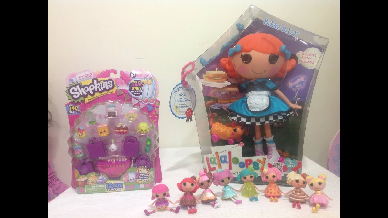 Lalaloopsy Bundle Reputation First Fashion, Character, Play Dolls Lalaloopsy