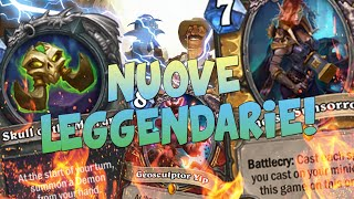 NUOVE LEGGENDARIE!! REVEAL & REVIEW #4 [HEARTHSTONE ITA]