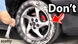 Never Do This to Your Tires, It Can Kill You