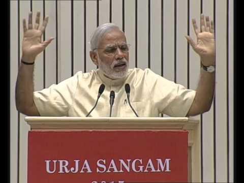 PM Modi's speech at inauguration of international energy summit 'Urja Sangam 2015'