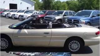 2000 Chrysler Sebring Used Cars Petersburg IL