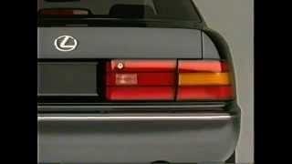 1995 Lexus LS400 Introduction VHS