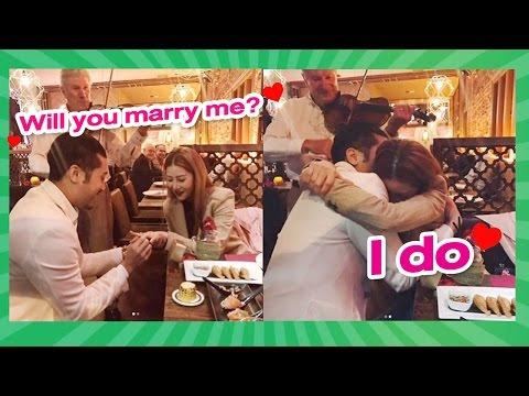 เซอร์ไพรส์!! 'ฤทธิ์ กาไชย' สวมแหวนขอ' เนย เนโกะจัมพ์' แต่งงาน - วันที่ 27 Apr 2017