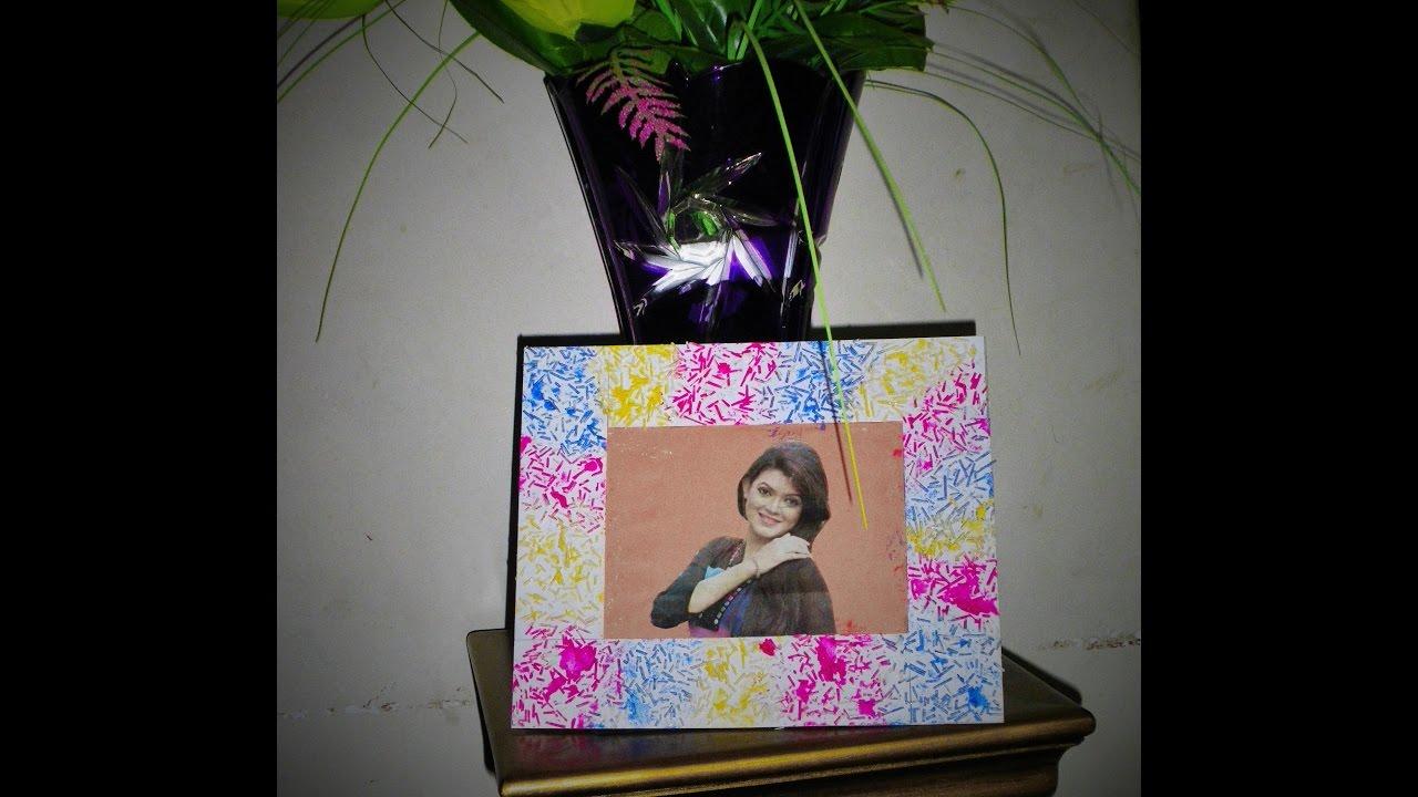 Diy Easy Photo Frame Birthday Gift Valentine Day Gift Idea Made