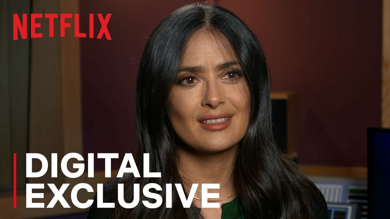 Salma Hayek for Netflix's Our Planet