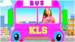The Wheels on the Bus Song | +More Videos by KLS