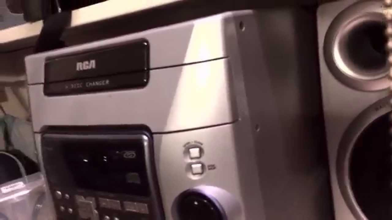 Rca Cd Tape Am Fm Aux Multimedia Center Review Youtube
