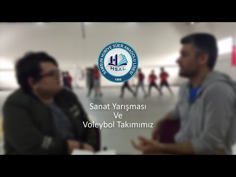 HSAL:Fakirhane:Sanat Yarışması ve Voleybol Takımımız