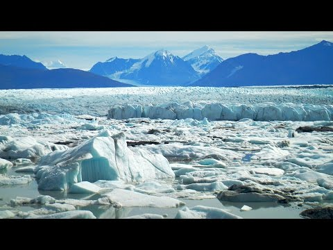 Mountain Wind White Noise For Sleep or Studying | Alaska  Glacier Sound for Stress Relief | 10 Hours