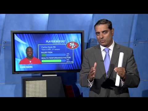 NFL 2016 Week 10 Carlos Hyde Injury Analysis