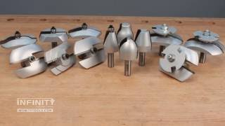 Choosing and Using Raised-Panel Router Bits for Cabinet Doors