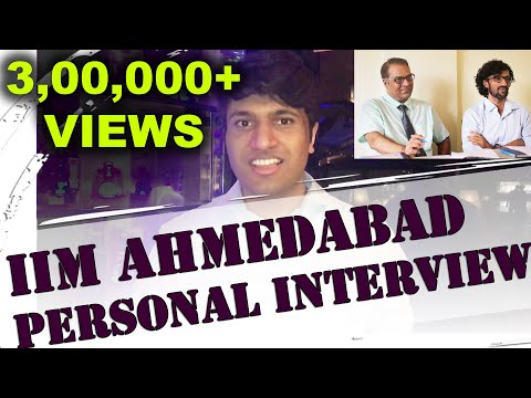 IIM Ahmedabad Personal Interview - Rohan Jain - 99.96 %ile in CAT
