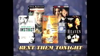 Indulge Yourself in These Guilty Pleasures – Rent Them Tonight (2000) Promo (VHS Capture)