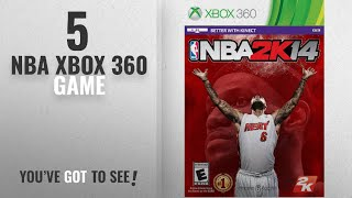 Top 10 NBA Xbox 360 Game [2018]: NBA 2K14 - Xbox 360
