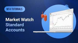 XM.COM - MT4 Tutorials - Market Watch / Standard Accounts