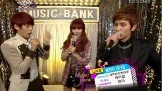 HyunA & K.Will Min Hyuk & Ilhoon  - Waiting Room MUSIC BANK Thumbnail