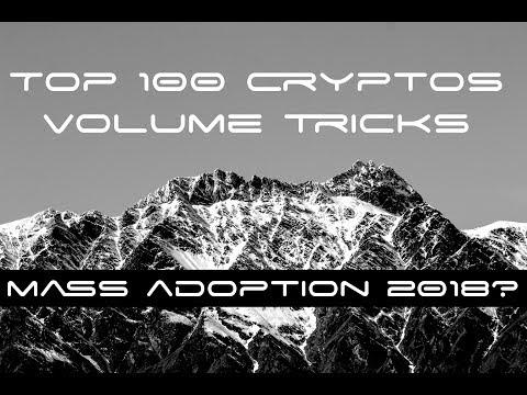 EVIDENCE Crypto Mass Adoption Coming 2018 and TOP alt coin analysis