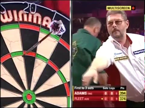 Darts World Championship 2010 Round 1 Martin Adams vs Tony F