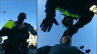 Policja w Barcelonie myślała że jadę po pijanemu