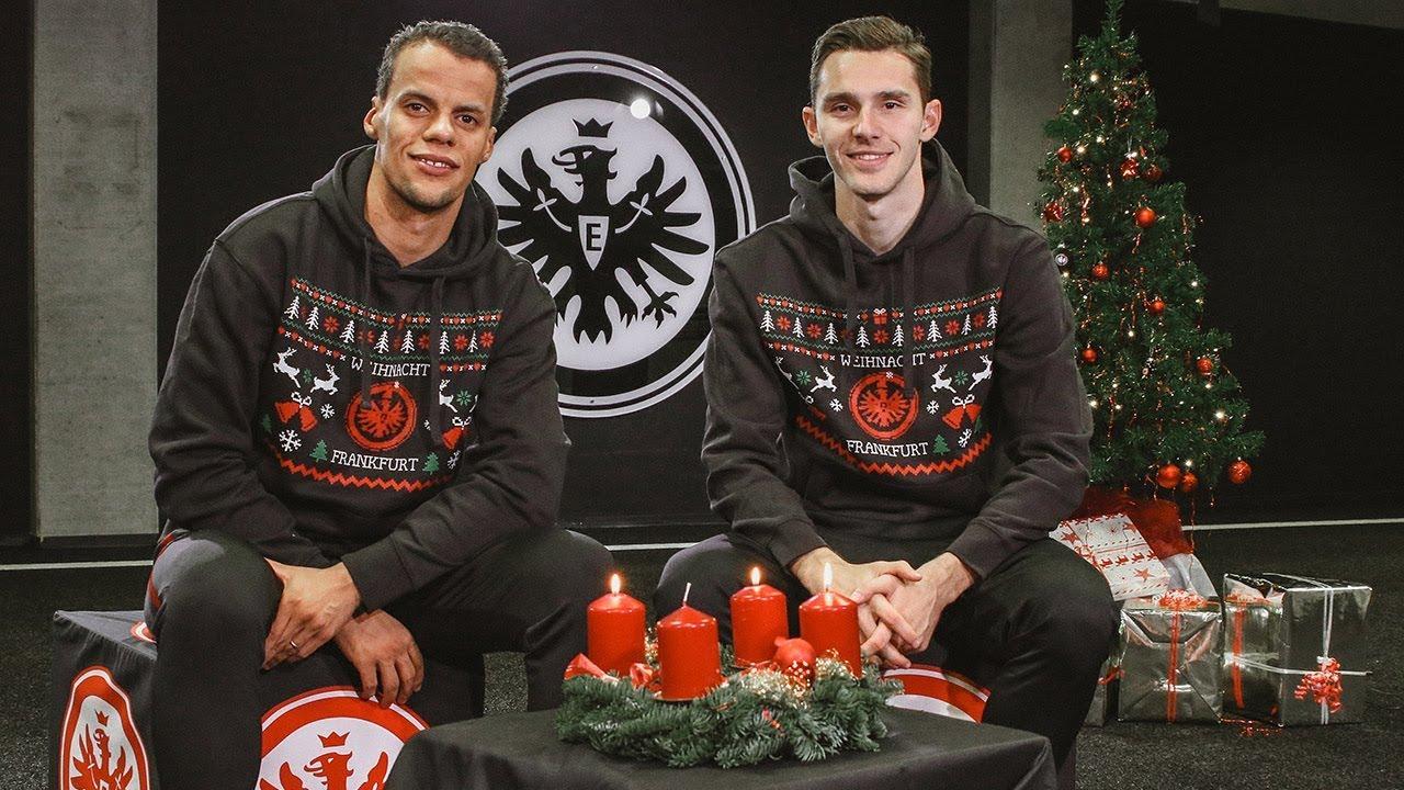 Eintracht Frankfurt Weihnachtsfeier.Chandler Und Hrgota Wünschen Einen Schönen 3 Advent Eintracht Frankfurt
